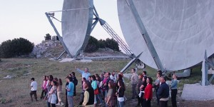 Adult group visit in EUDOXOS's Ainos Astronomical Base